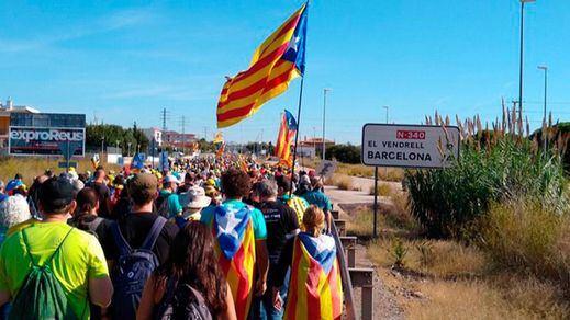 La encuesta del CIS catalán refleja un claro descenso de los ciudadanos a favor de la independencia