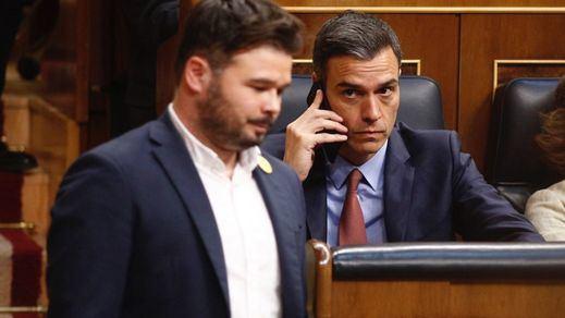 ERC y JxCat amenazan con complicar la investidura a Sánchez con