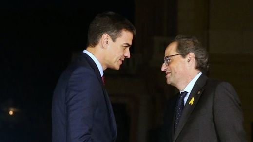 JxCat reclama a Sánchez que llame a Torra, mientras ERC pide una