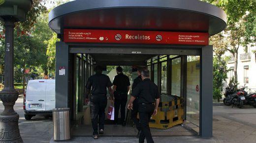 Los trenes de Cercanías Madrid circulan de nuevo con parada en Recoletos