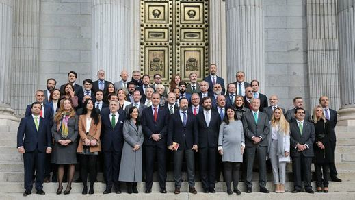 Los 52 diputados de Vox: nombres, origen, currículum...
