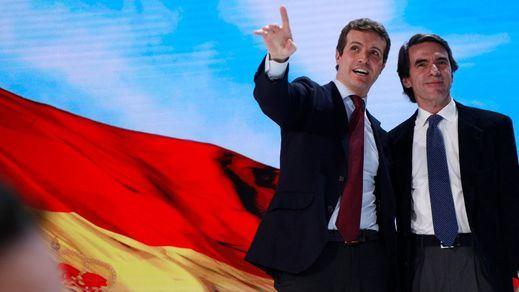 Aznar y Feijóo dividen al PP en torno a la abstención en la investidura de Sánchez