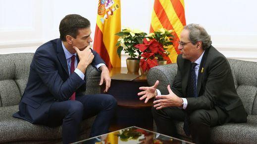 Torra convocará la mesa de partidos catalanes como reclamaba Sánchez