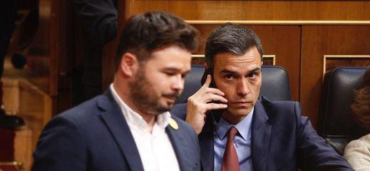 ERC toma el pulso a sus bases con una consulta sobre la investidura de Sánchez