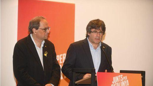Puigdemont y Torra se reúnen en Waterloo en las plenas negociaciones para la investidura