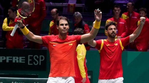 Bautista y Nadal meten a España en cuartos de la Copa Davis tras arrasar a los croatas