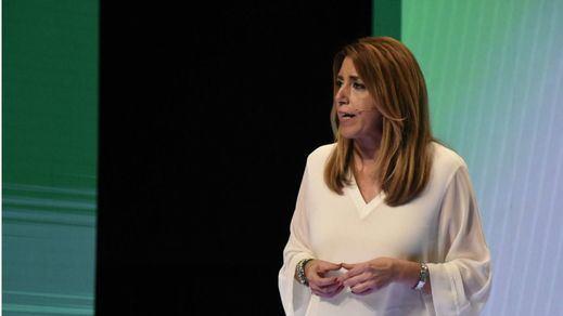 Susana Díaz pide perdón por los ERE, pero descarta su final político: