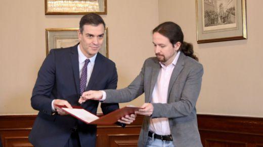 PSOE y Unidas Podemos negocian la composición de su Gobierno conjunto
