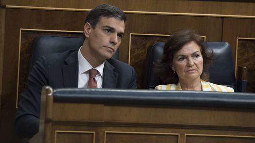 Sánchez insiste en su gobierno con los dirigentes socialistas más discutidos: Calvo y Ábalos