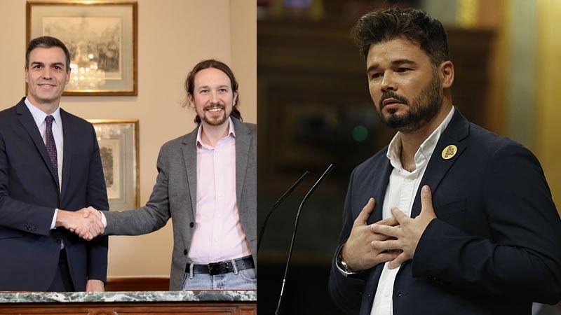 El futuro Gobierno, en manos de los militantes del PSOE, Unidas Podemos y ERC
