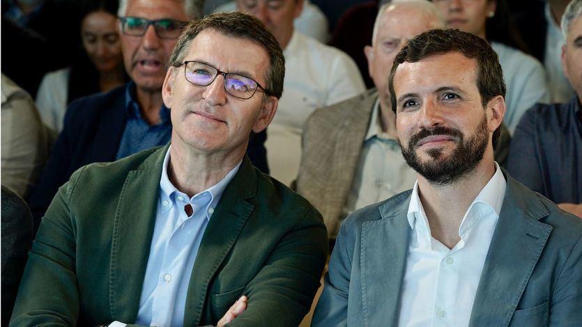 Feijóo contradice a Casado e insiste en buscar acuerdos con el PSOE