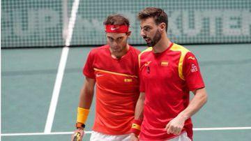 España, en semifinales de la Copa Davis tras remontar ante Argentina