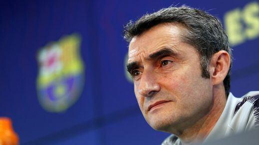 Oleada de críticas a Valverde tras el duelo Leganés- Barça