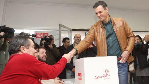 El rotundo 'sí' de la militancia socialista al pacto de Gobierno con Podemos