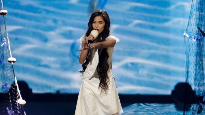 Twitter se vuelca con Melani tras su actuación en Eurovisión Junior