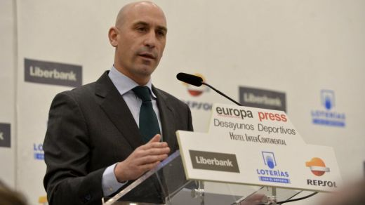 presidente de la RFEF, Luis Rubiales