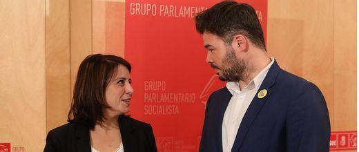 El PSOE activa la maquinaria para sentarse ya a negociar con ERC la investidura de Sánchez