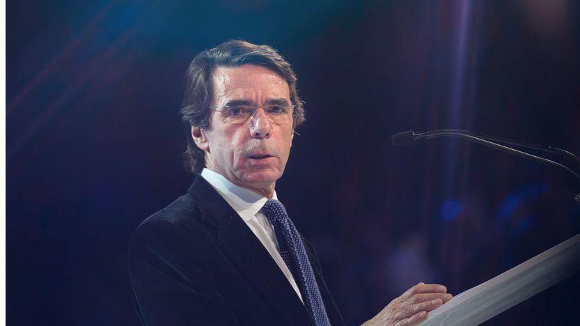 El apocalíptico mensaje de Aznar por la 'entrada de los comunistas chavistas en el Gobierno'