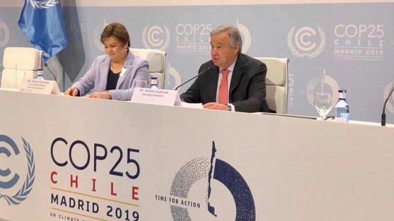 COP25: Guterres alerta de que el cambio climático se cobra 7 millones de vidas al año