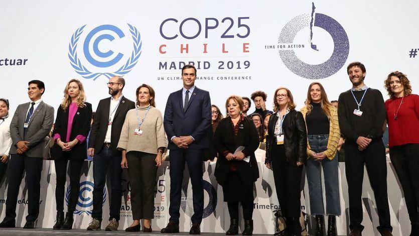 Sánchez llama 'puñado de fanáticos' a los que niegan la evidencia del cambio climático