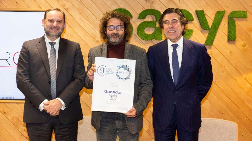 Entrega premio Artabro Sacyr innovacion 2019-20