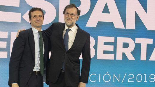 Rajoy da por hecho que el PP no se abstendrá a favor de Sánchez y apoya a Casado como líder de la oposición