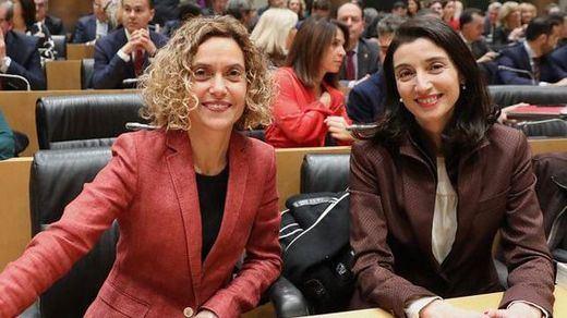 Las socialistas Meritxell Batet y Pilar Llop presidirán las dos Cámaras: Congreso y Senado