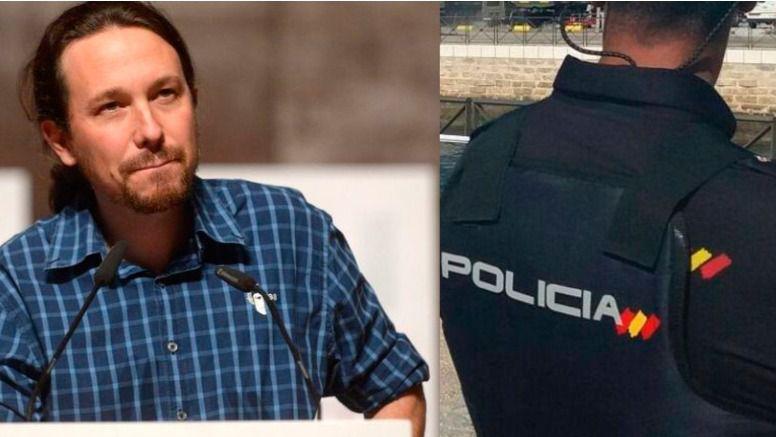 Pablo Iglesias / Policía Nacional