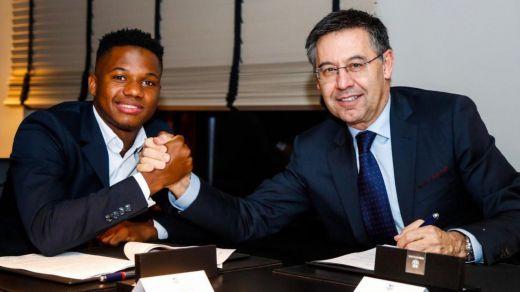 El Barça mejora el contrato de Ansu Fati y le pone un precio de 170 millones, ampliable a 400