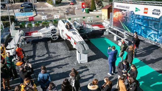 Llega a España la nave X-Wing de 'Star Wars' de la mano de El Corte Inglés, LEGO y Disney