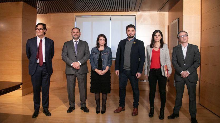 PSOE y ERC se citan en Barcelona para intentar desatascar la investidura a la tercera