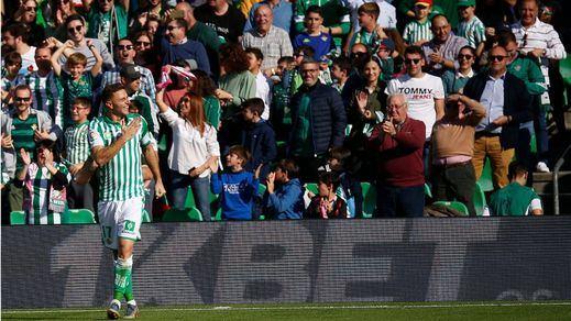 Joaquín, 38 años y tres goles en 20 minutos