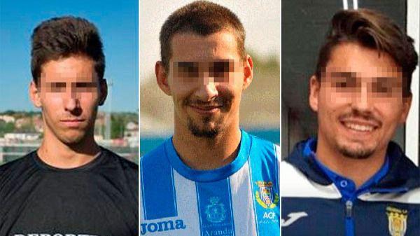 Los ex futbolistas del Arandina, condenados a 38 años de cárcel por la violación a la menor