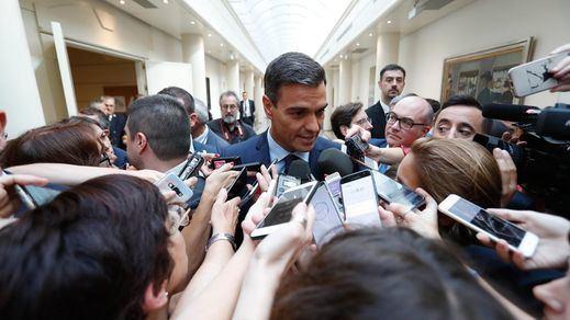 La prensa abronca a Pedro Sánchez