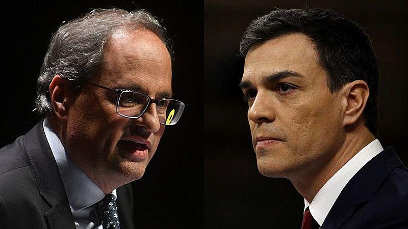 Torra menosprecia el 'gesto' que ERC pidió a Sánchez en las negociaciones