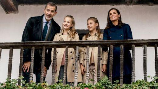 La Familia Real felicita con un guiño a Leonor las Navidades 2019