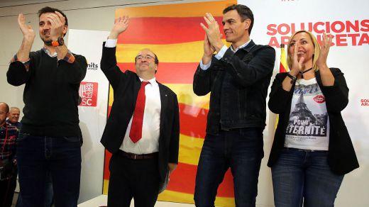 Tensión máxima en el PSOE por la 'nación de naciones' que quiere impulsar Iceta desde Cataluña