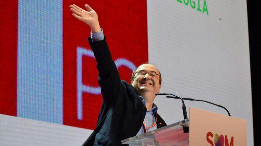 Iceta arrasa como líder del PSC y lleva adelante su proyecto más catalanista