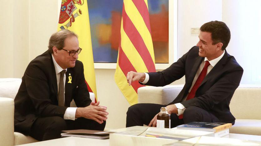 Sánchez llamará esta semana a Torra para iniciar contactos cuando el president catalán pueda estar ya inhabilitado