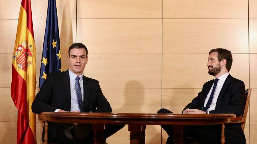 Casado entierra la posibilidad de permitir la investidura de Sánchez por la alianza de PSOE y Podemos