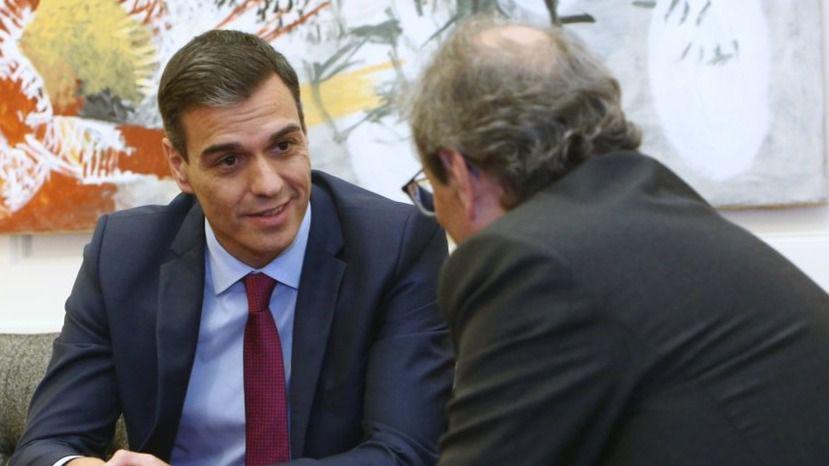 Sánchez-Torra y Lastra-Rufián: hoy, día marcado por los contactos con el nacionalismo