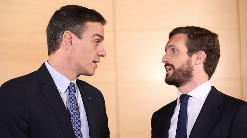 Filtran las peticiones de Sánchez a Casado en la reunión fallida del Congreso