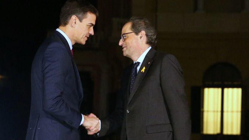 Llamada Torra-Sánchez: el presidente le ofrece al líder catalán una reunión y éste insiste en la vía soberanista
