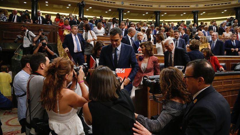 El PSOE, muy optimista en sus negociaciones con ERC, planifica una investidura exprés para el día 30