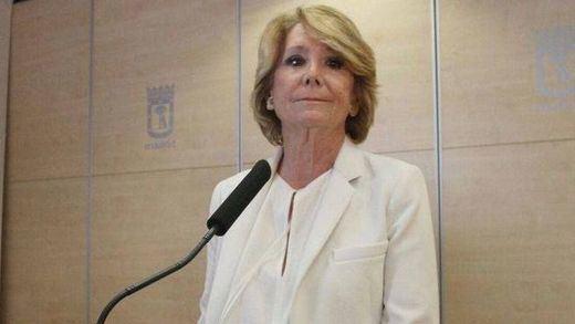 Anticorrupción ultima ya la solicitud de procesamiento de Esperanza Aguirre en la trama Púnica