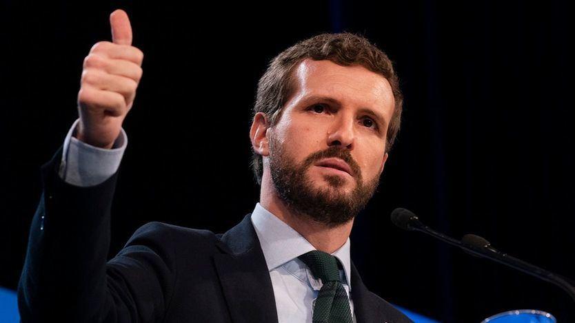 Casado ni se inmuta: 'Nada ha cambiado... Junqueras sigue siendo un delincuente y Puigdemont un prófugo'