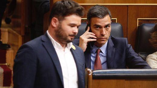 Al traste la investidura exprés que quería Sánchez: entre Ábalos y el 'caso Junqueras' se arruinan los planes