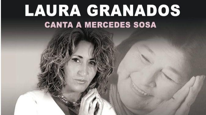 La polifacética Laura Granados rinde homenaje a la legendaria Mercedes Sosa de la mejor manera posible: interpretando sus canciones