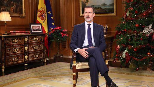 El Rey define a Cataluña en su mensaje navideño como una