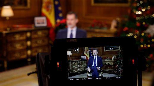 Las reacciones al discurso del Rey: de los elogios de PP, Cs y Vox a las críticas de los independentistas y el PNV